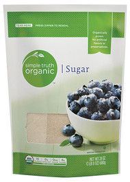 3 PACK of Simple Truth Organic Sugar -- 24 oz
