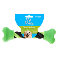 3 Pack of Pet Pride Dent-A-Tug - Large - 1 Toy