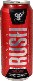 3 Pack of BSN Endorush Carbonated RTD Fruit Punch - 16 fl oz