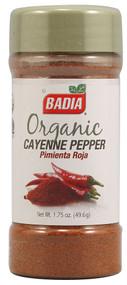 Badia, Organic Cayenne Pepper - 1.75 oz -5 PACK