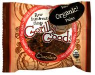Gorilly Goods, Organic Raw Fruit & Nut Things,  Chocolate - 1.4 oz -5 PACK