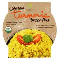 Healthee, Organic Brown Rice Bowl,  Turmeric - 7.6 oz -5 PACK