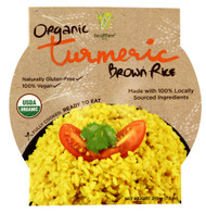 3 PACK of Healthee Organic Brown Rice Bowl Turmeric -- 7.6 oz