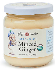 3 PACK of Ginger People Organic Minced Ginger -- 6.7 oz