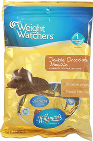 Weight Watchers, Candy,  Double Chocolate Mousse - 3.25 oz -5 PACK