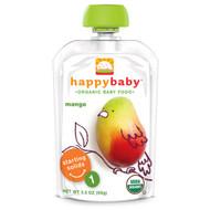5 PACK of Nurture Inc. (Happy Baby), Organic Baby Food, Stage 1, Mango, 3.5 oz (99 g)