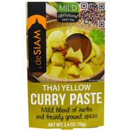 3 PACK of deSIAM, Thai Yellow Curry Paste, Mild, 2.4 oz (70 g)
