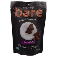 3 PACK of Bare Fruit, Baked Crunchy Coconut Chips, Chocolate, 1.4 oz (40 g)