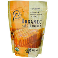 3 PACK of Go Organic, Organic Hard Candies, Honey, 3.5 oz (100 g)