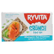3 PACK of Ryvita, Wholegrain Rye Crispbread, Crunch Light Rye , 8.8 oz (250 g)