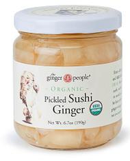 Ginger People, Organic Pickled Sushi Ginger - 6.7 oz -5 PACK