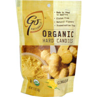 3 PACK of Go Organic, Organic Hard Candies, Ginger, 3.5 oz (100 g)