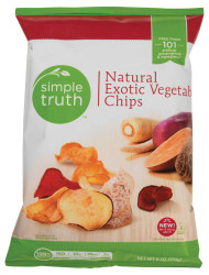 Simple Truth Natural Exotic Vegetable Chips - 6 oz