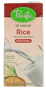 Pacific Natural Foods, Rice Non-Dairy Beverage - 32 fl oz -5 PACK