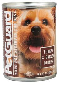 PetGuard, Canned Dog Food,  Turkey and Barley Dinner - 13.2 oz