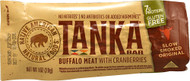 Tanka, Bar Buffalo Meat,  Natural Cranberry - 1 oz -5 PACK
