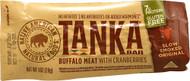 3 PACK of Tanka Bar Buffalo Meat Natural Cranberry -- 1 oz