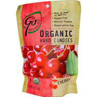 3 PACK of Go Organic, Organic Hard Candies, Cherry, 3.5 oz (100 g)