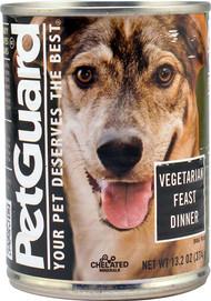 3 PACK of PetGuard Canned Dog Food Vegetarian Feast Dinner -- 13.2 oz