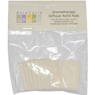3 PACK of Aura Cacia, Aromatherapy Diffuser Refill Pads, 10 Refill Pads