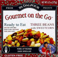 St. Dalfour, Gourmet On The Go,  Three Beans with Sweetcorn - 6.2 oz -5 PACK