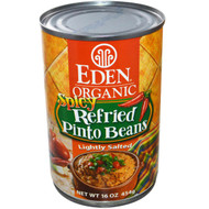 Eden Foods, Organic, Spicy Refried Pinto Beans, 16 oz (454 g) (5 PACK)