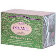 3 PACK of St. Dalfour, Peppermint Tea, 25 Tea Bags, 1.75 oz (50 g)