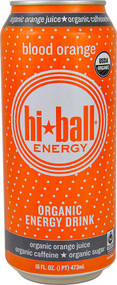 Hi-Ball Organic Energy Drink Blood Orange - 16 fl oz