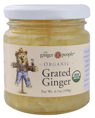 Ginger People, Organic Grated Ginger - 6.7 oz -5 PACK