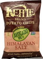 Kettle Foods Avocado Oil Potato Chips  Himalayan Salt - 4.2 oz