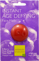 5 PACK of Andalou Naturals Instant Age Defying Face Mask - 0.28 oz