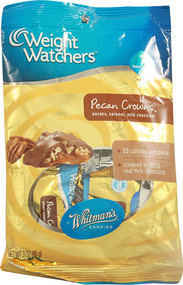 Weight Watchers, Candy,  Pecans Caramel and Milk Chocolate - 3 oz