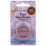 3 PACK of Out of Africa, Pure Shea Butter with Vitamin E, Lavender, 0.5 oz (14.2 g)