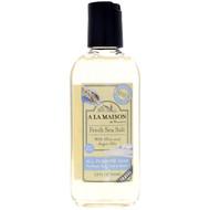 3 PACK OF A La Maison de Provence, All Purpose Soap For Hand, Body, Bath & Shower, Fresh Sea Salt, 3.4 fl oz (100 ml)