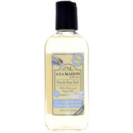 A La Maison de Provence, All Purpose Soap For Hand, Body, Bath & Shower, Fresh Sea Salt, 3.4 fl oz (100 ml)