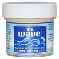 3 PACK of Aroma Naturals, The Wave, Natural Sports Soothing, Cooling Comfort Gelee, 1 oz (30 g)
