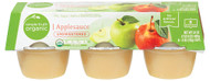 3 PACK of Simple Truth Organic Applesauce Unsweetened -- 6 Cups