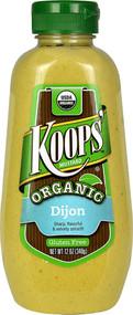 5 PACK of Koops Mustard Organic Dijon - 12 oz