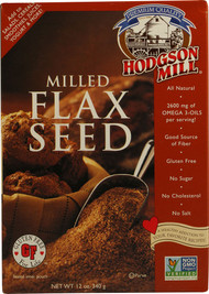 Hodgson Mill, Milled Flax Seed Gluten Free - 12 oz -5 PACK