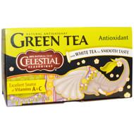 3 PACK of Celestial Seasonings, Green Tea, Antioxidant, 20 Tea Bags, 1.4 oz (41 g)