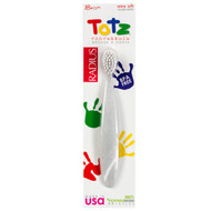 3 PACK of Radius Totz Toothbrush for Toddlers Extra Soft Assorted Colors -- 1 Toothbrush