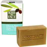 3 PACK OF Kiss My Face, Olive Oil Soap, Olive & Aloe, 8 oz (230 g)