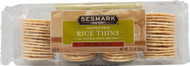 Sesmark Foods, Rice Thins,  Brown Rice - 3.5 oz -5 PACK