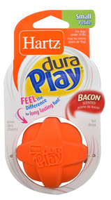 Hartz, Dura Play Latex Dog Ball (Small) Assorted Colors - 1 Toy -5 PACK