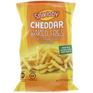 3 PACK OF Snikiddy, Baked Fries, Corn & Potato Snacks, Cheddar, 4.5 oz (127.6 g)