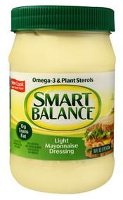 Smart Balance, Light Mayonnaise Dressing - 16 oz -5 PACK