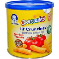 3 PACK of Gerber, Lil' Crunchies, Crawler, 8+ Months, Garden Tomato, 1.48 oz (42 g)