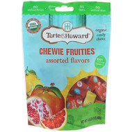 3 PACK OF Torie & Howard, Organic, Chewie Fruities, Assorted Flavors, 4 oz (113.40 g)