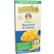 3 PACK of Annies Homegrown, Organic Macaroni & Cheese, Classic Cheddar, 6 oz (170 g)
