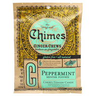 3 PACK of Chimes, Ginger Chews, Peppermint, 5 oz (141.8 g)